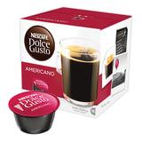 """Капсулы для кофемашин NESCAFE Dolce Gusto """"Americano"""", натуральный кофе, 16 шт. х 10 г, 12115461"""