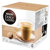 """Капсулы для кофемашин NESCAFE Dolce Gusto """"Cortado"""", натуральный кофе эспрессо с молоком, 16 шт. х 6 г, 12121894"""