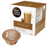 """Кофе в капсулах NESCAFE """"Cafe au lait"""" для кофемашин Dolce Gusto, с молоком, 16 шт. х 10 г, 12148061"""