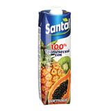Сок SANTAL (Сантал), тропические фрукты, 1 л, для детского питания, тетра-пак, 547722