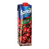 Напиток сокосодержащий SANTAL (Сантал) Red, красная вишня, 1 л, тетра-пак, 547754