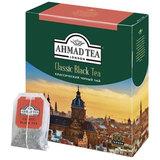 """Чай AHMAD (Ахмад) """"Classic Black Tea"""", черный, 100 пакетиков с ярлычками по 2 г, 1665"""
