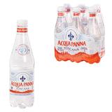 Вода негазированная минеральная ACQUA PANNA (Аква Панна), 0,5 л, пластиковая бутылка, Италия