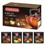 """Чай TEEKANNE (Тикане) """"Black tea collection"""", черный, ассорти 4 вкуса, 20 пакетиков, Германия, 45621"""