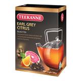 """Чай TEEKANNE (Тикане) """"Earl Grey Citrus"""", черный, бергамот/цитрус, листовой, 100 г"""