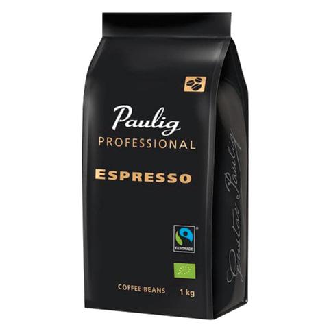 """Кофе в зернах PAULIG (Паулиг) """"Espresso Professional"""", натуральный, 1000 г, вакуумная упаковка, 16628"""