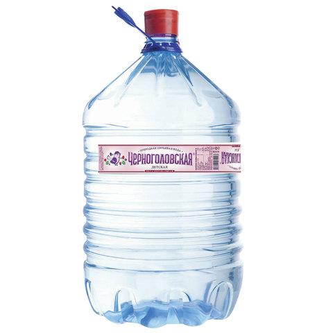 """Вода негазированная питьевая """"ЧЕРНОГОЛОВСКАЯ"""" детская, 19 л, одноразовая пластиковая бутыль"""