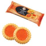 Печенье SANTA BAKERY, с апельсиновым мармеладом, сдобное, 100 г