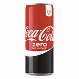 Напиток газированный COCA-COLA (Кока-кола) Zero, 0,33 л, жестяная банка, 225016