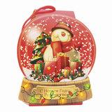"""Подарок новогодний """"Снежный шар"""", 500 г, набор конфет и пр., ассорти, картонная коробка, 1545"""