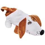 """Подарок новогодний """"Собака Сосиска"""", 400 г, набор конфет ассорти, сумочка, мягкая игрушка, 1602"""