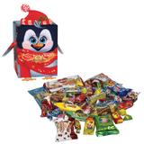 """Подарок новогодний """"Дружок детей"""", 550 г, набор конфет и пр., картонная коробка, OK18677L101"""
