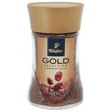 """Кофе растворимый TCHIBO """"Gold selection"""", сублимированный, 95 г, стеклянная банка, 476750"""