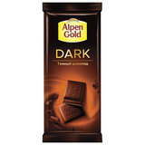 Шоколад ALPEN GOLD (Альпен Голд), темный, 90 г, 58639