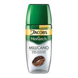 """Кофе молотый в растворимом JACOBS MONARCH (Якобс Монарх) """"Millicano"""", сублимированный, 190 г, стеклянная банка, 47648"""