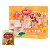 """Чай МАЙСКИЙ """"Коллекция изысканных вкусов"""", набор 30 пакетиков по 2 г, ассорти, 5 вкусов, 114605"""
