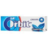 """Жевательная резинка ORBIT (Орбит) """"Сладкая мята"""", 10 подушечек, 13,6 г, 50173808"""