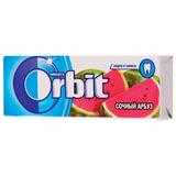 """Жевательная резинка ORBIT (Орбит) """"Сочный арбуз"""", 10 подушечек, 13,6 г, 42113270"""