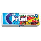 """Жевательная резинка ORBIT (Орбит) """"Клубника-банан"""", 10 подушечек, 13,6 г, 42203100"""
