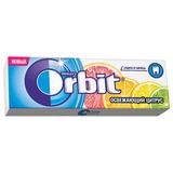 """Жевательная резинка ORBIT (Орбит) """"Освежающий цитрус"""", 10 подушечек, 13,6 г, 46177872"""