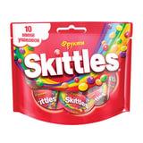 """Жевательная конфета SKITTLES (Скитлс) """"Фрукты"""", 10 мини-упаковок, 120 г, 4009900498135"""