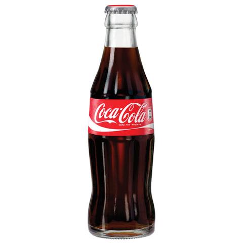 Кока кола стеклянная бутылка емкостью 0 33 соки и нектары добрый купить