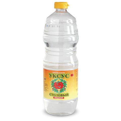 Уксус столовый 9%, 1 л, пластиковая бутылка, АБРИКО, 592641