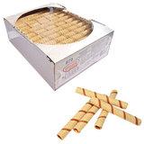 Вафельные трубочки СЕМЕЙКА ОЗБИ, со вкусом вареной сгущенки, 650 г, гофрокороб, 870
