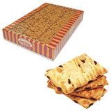 Печенье СЕМЕЙКА ОЗБИ, затяжное с изюмом, яблоком и корицей, 1,8 кг, весовое, гофрокороб, 1025