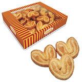 "Печенье СЕМЕЙКА ОЗБИ ""Мини-плюшки"", ушки с сахаром, 500 г, гофрокороб, 990"
