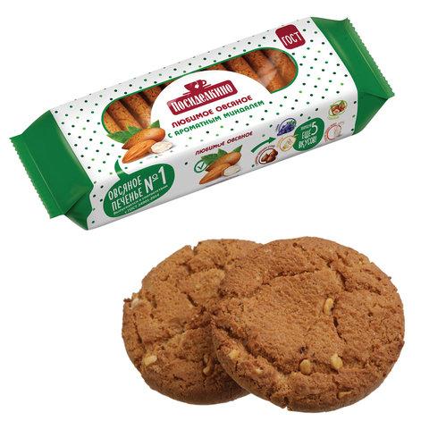 Печенье овсяное ПОСИДЕЛКИНО с ароматным миндалем, 310 г, 51031450