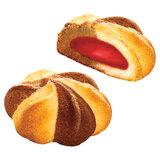 """Печенье БЕЛОГОРЬЕ """"Шапито"""", сдобное с клубничной начинкой, 2,3 кг, весовое, гофрокороб, 37-10"""