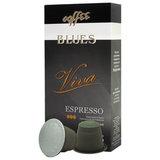 """Капсулы для кофемашин NESPRESSO, """"Viva"""", натуральный кофе, BLUES, 10 шт. х 5 г, 4600696301038"""