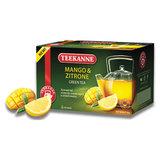 "Чай TEEKANNE (Тиканне) ""Mango&Zitrone"", зеленый, манго/лимон, 20 пакетиков по 2 г, Германия, 0306_4535"