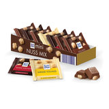 Шоколад порционный 1 плитка RITTER SPORT, ассорти с цельным орехом, 16,67 г, Германия, RU4036A
