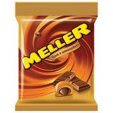 Конфеты-ирис MELLER (Меллер) с шоколадом, 100 г, пакет, 21161