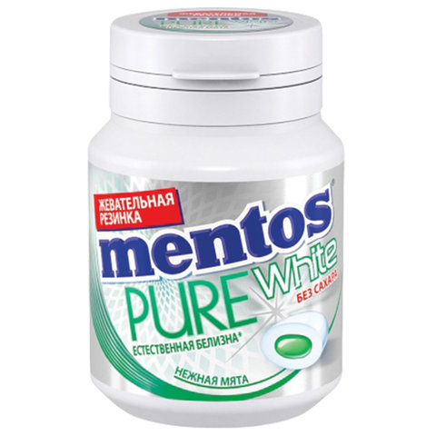 Жевательная резинка MENTOS Pure White (Ментос)