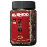 """Кофе растворимый BUSHIDO """"Red Katana"""", сублимированный, 100 г, 100% арабика, стеклянная банка, BU10009014"""