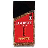 """Кофе растворимый EGOISTE """"Private"""", сублимированный, 100 г, 100% арабика, стеклянная банка, EG10009006"""
