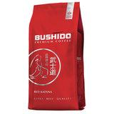 """Кофе в зернах BUSHIDO """"Red Katana"""", натуральный, 1000 г, 100% арабика, вакуумная упаковка, BU10004007"""