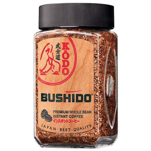 Кофе молотый в растворимом BUSHIDO