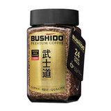"""Кофе растворимый BUSHIDO """"Katana Gold 24 Karat"""", сублимированный с пищевым золотом, 100 г, 100% арабика, стеклянная банка, BU10009005"""