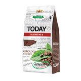 """Кофе молотый TODAY """"Blend №8"""", натуральный, 200 г, 100% арабика, вакуумная упаковка, TO20012001"""