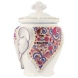 """Чай HILLTOP """"Подарок Цейлона"""", черный листовой, 100 г, керамическая чайница """"СЛОН"""", F014"""