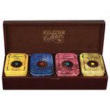 """Шкатулка HILLTOP """"Звездная коллекция"""", коллекция листового чая в деревянной шкатулке, 220 г, F202"""