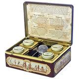 """Чай HILLTOP """"Морская"""", коллекция листового чая и заварная ложка-ситечко в шкатулке, 200 г, F510"""