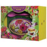 """Чай HILLTOP """"Волшебная луна"""", черный листовой, 100 г, с ложечкой для чая в подарочной упаковке """"ЛЕТНИЕ ЦВЕТЫ"""", I2209"""