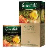 """Чай GREENFIELD (Гринфилд) """"Quince Ginger"""", зеленый, айва-имбирь, 25 пакетиков в конвертах по 2 г, 1388-10"""
