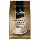 """Кофе в зернах JARDIN (Жардин) """"Americano Crema"""", натуральный, 1000 г, вакуумная упаковка, 1090-06-Н"""