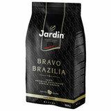 """Кофе в зернах JARDIN (Жардин) """"Bravo Brazilia"""", натуральный, 1000 г, вакуумная упаковка, 1347-06"""